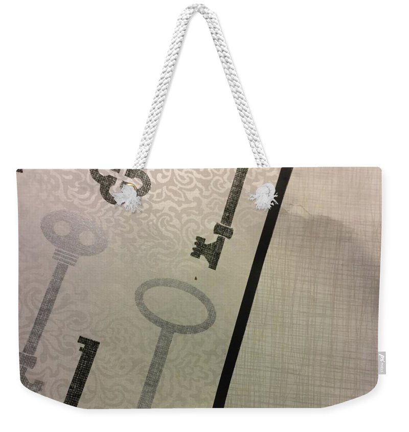 Abstract Weekender Tote Bag featuring the photograph Something Cool by Alwyn Glasgow