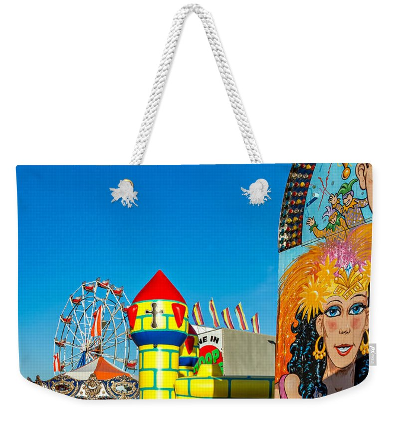 Bolton Weekender Tote Bag featuring the photograph Something For Everyone by Steve Harrington