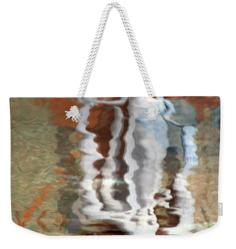 Weekender Tote Bag featuring the photograph Something by Ross Odom