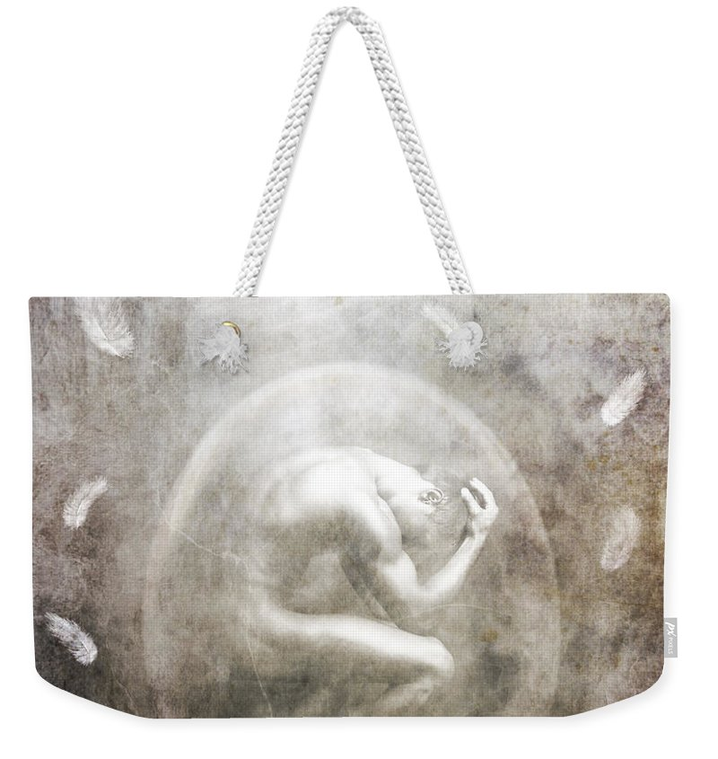 Surreal Weekender Tote Bag featuring the photograph Sometimes by Jacky Gerritsen