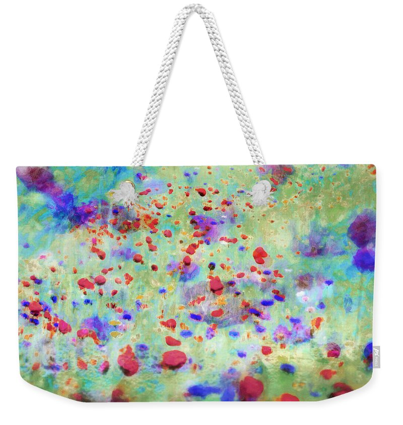 Flowers Weekender Tote Bag featuring the photograph Somewhere In Governy by Hal Halli