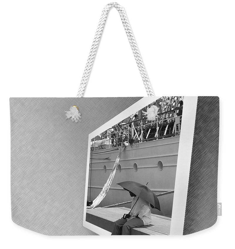 2d Weekender Tote Bag featuring the photograph Somewhere It Is Raining by Brian Wallace