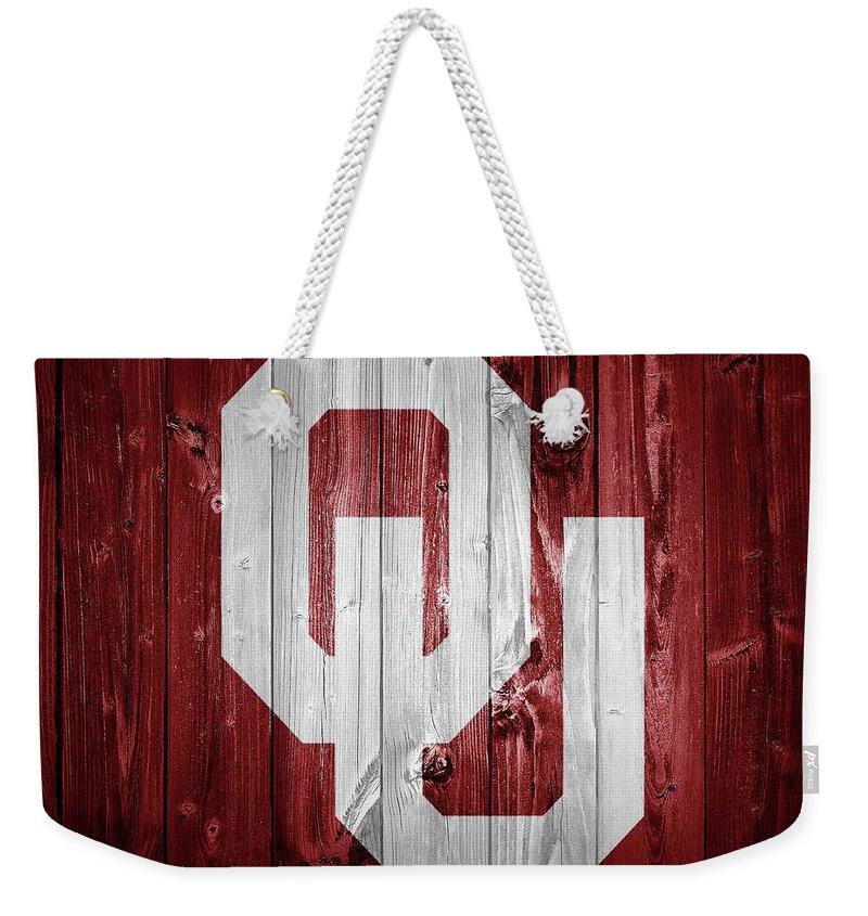 Oklahoma University Weekender Tote Bags