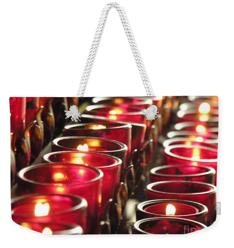 Souls Weekender Tote Bag featuring the photograph Souls by Diane Greco-Lesser