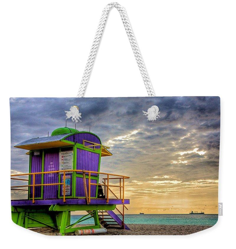Miami Weekender Tote Bags