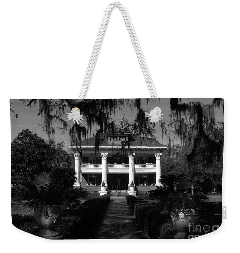 Old South Weekender Tote Bag featuring the photograph Southern Bell by David Lee Thompson