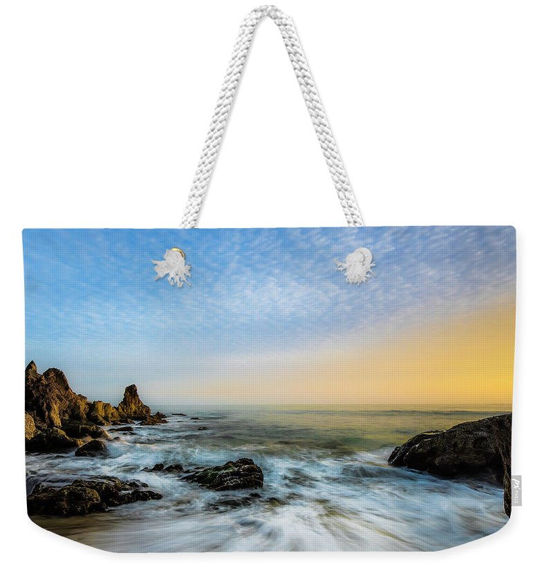 Sea Stacks Weekender Tote Bags