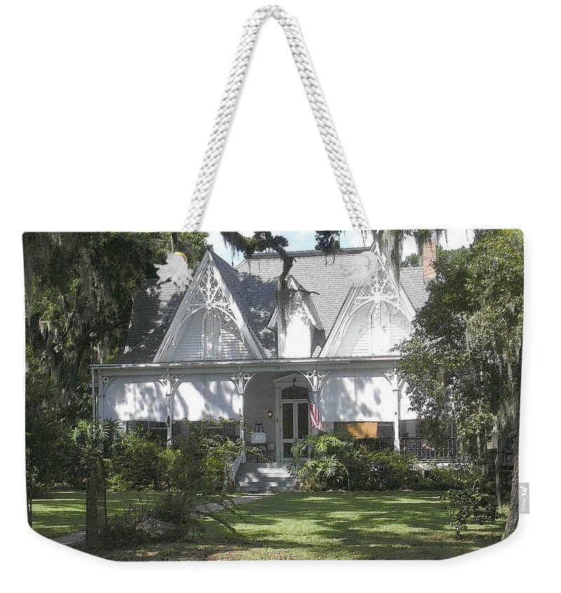 St. Francisville Weekender Tote Bag featuring the photograph Southern Comfort by Nelson Strong