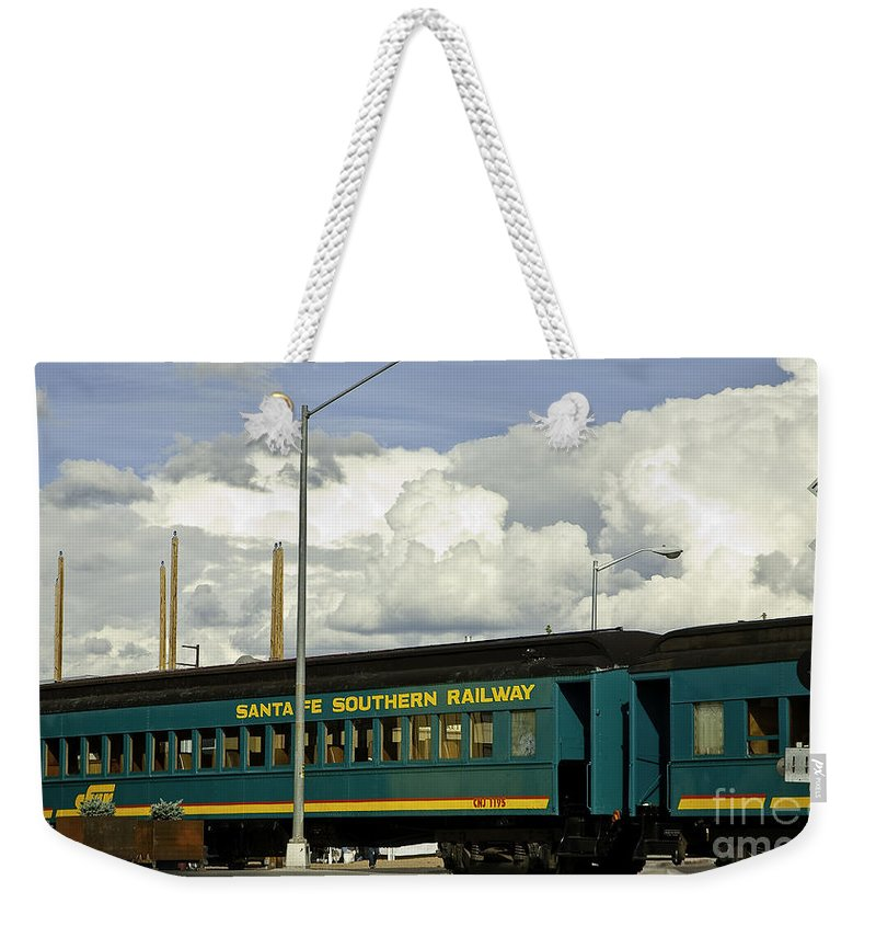 Rail Weekender Tote Bag featuring the photograph Southern Railway by Madeline Ellis