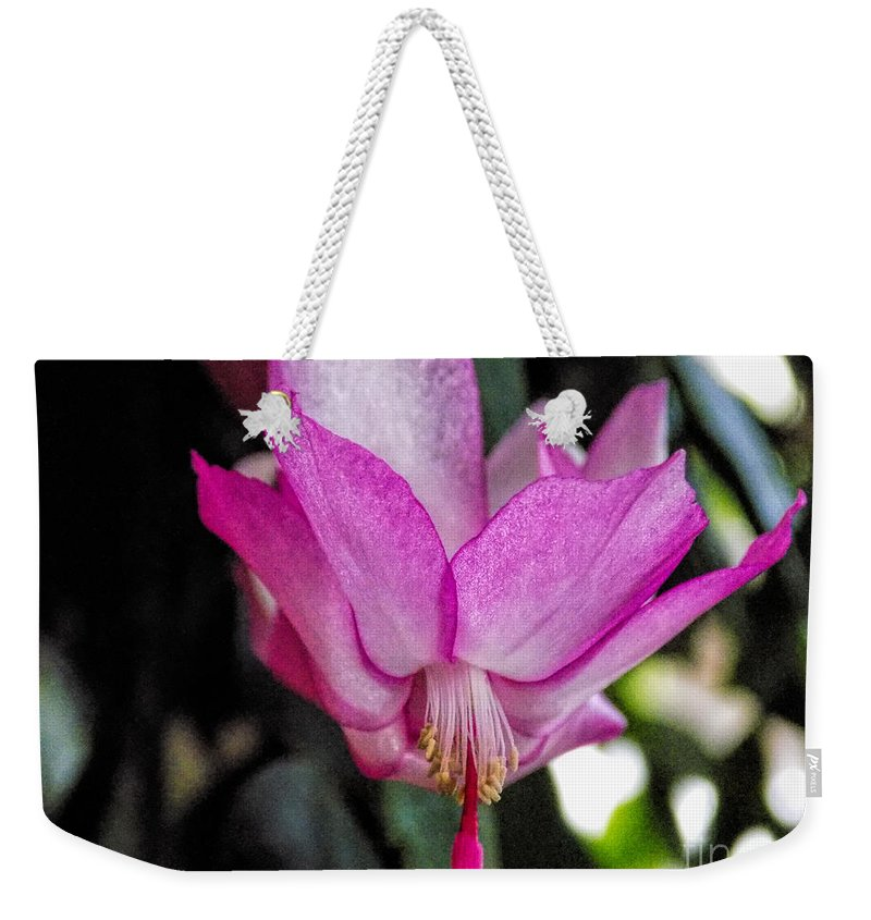 Macro Weekender Tote Bag featuring the photograph Sparkles by William Tasker