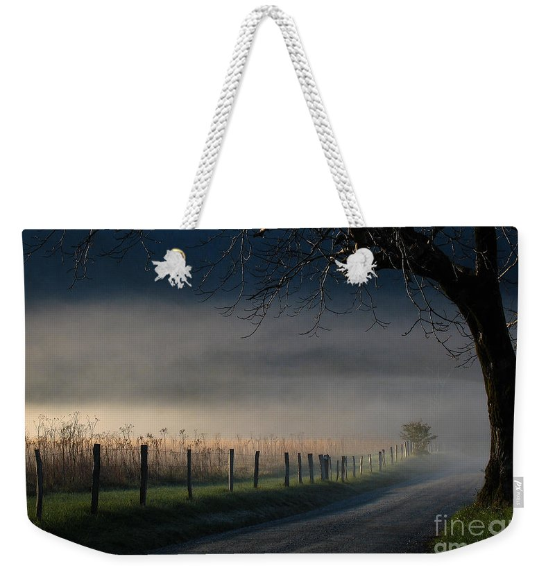 Sparks Weekender Tote Bag featuring the photograph Sparks Lane Sunrise Lr3 Edition by Douglas Stucky
