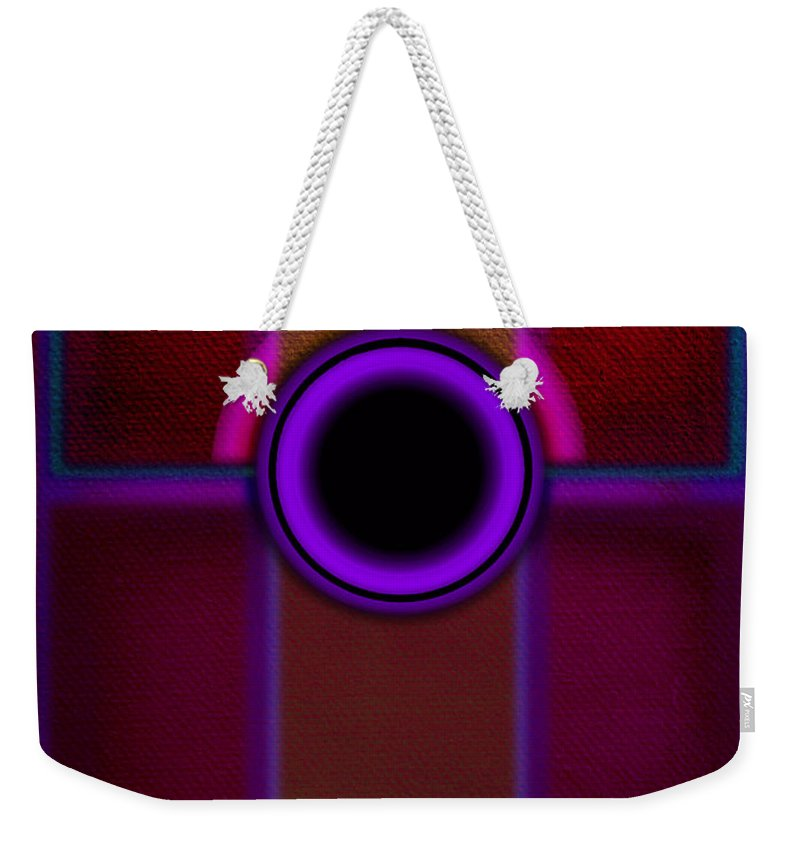 Portal Weekender Tote Bag featuring the painting Speaker by Charles Stuart