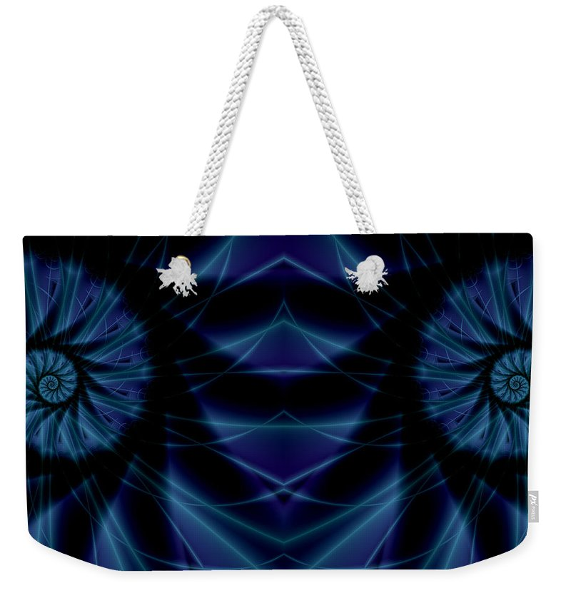 Art Weekender Tote Bag featuring the digital art Spectacularity by Candice Danielle Hughes
