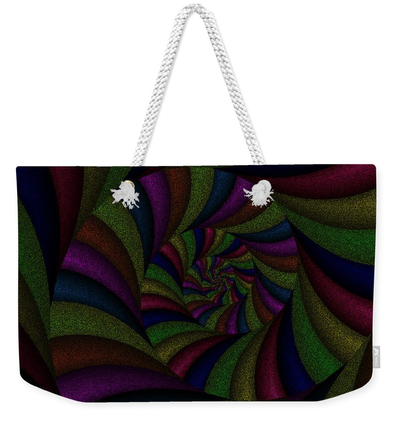 Art Weekender Tote Bag featuring the digital art Spellbinding by Candice Danielle Hughes