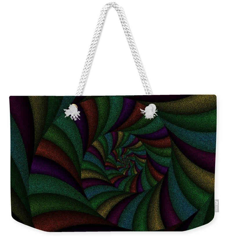 Art Weekender Tote Bag featuring the digital art Spellbinding IIi by Candice Danielle Hughes