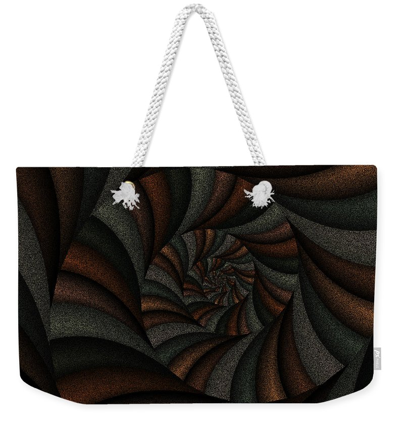 Art Weekender Tote Bag featuring the digital art Spellbinding Ix by Candice Danielle Hughes