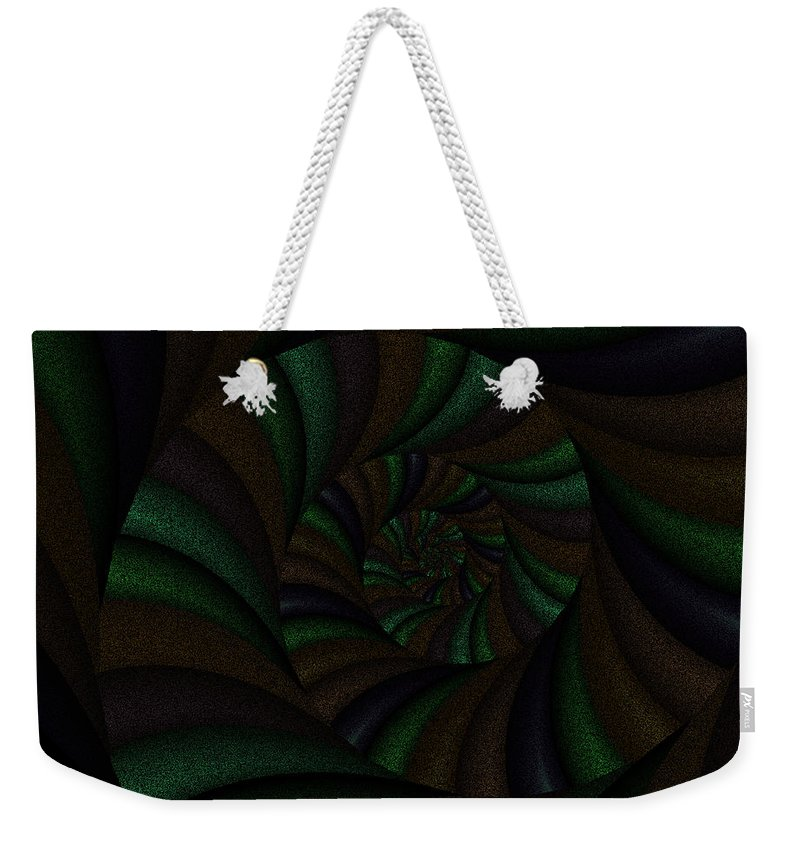 Art Weekender Tote Bag featuring the digital art Spellbinding V by Candice Danielle Hughes