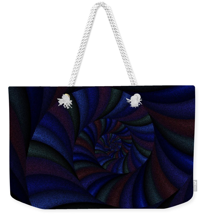 Art Weekender Tote Bag featuring the digital art Spellbinding Vi by Candice Danielle Hughes
