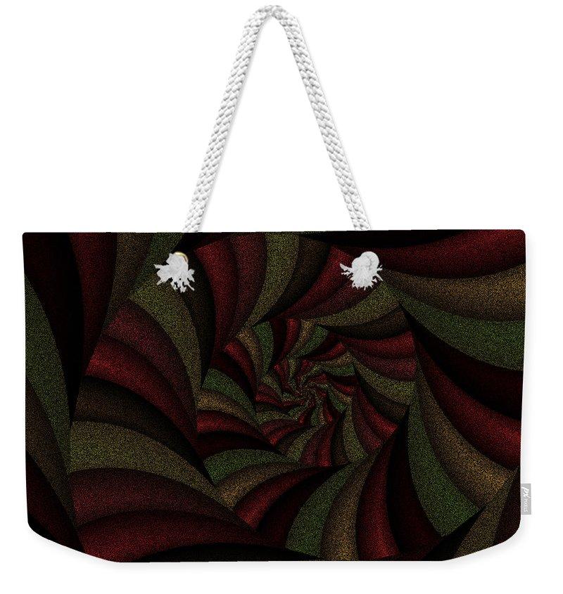 Art Weekender Tote Bag featuring the digital art Spellbinding Viii by Candice Danielle Hughes