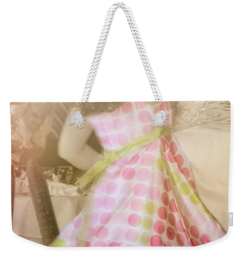Spin Weekender Tote Bag featuring the photograph Spin Round Quote by JAMART Photography
