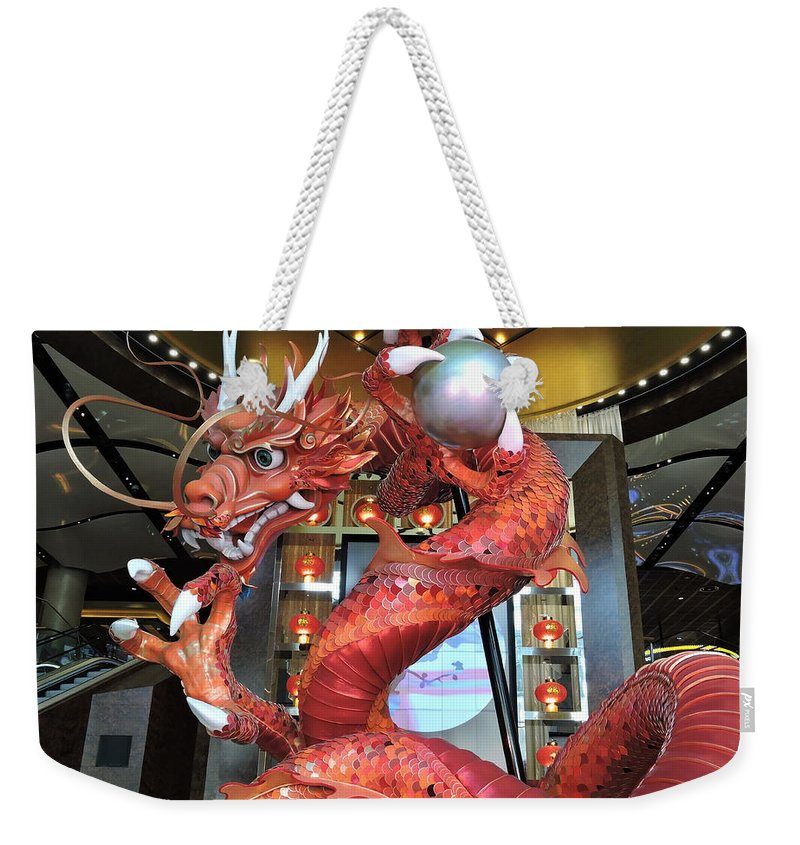 Attraction Weekender Tote Bag featuring the photograph Spin by Trevor Whitehead