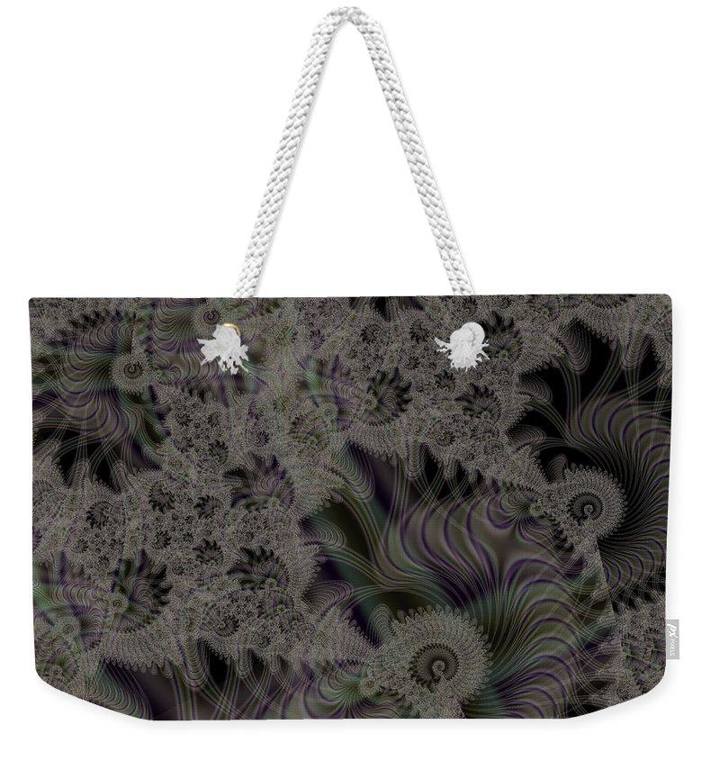 Art Weekender Tote Bag featuring the digital art Spiraling by Candice Danielle Hughes