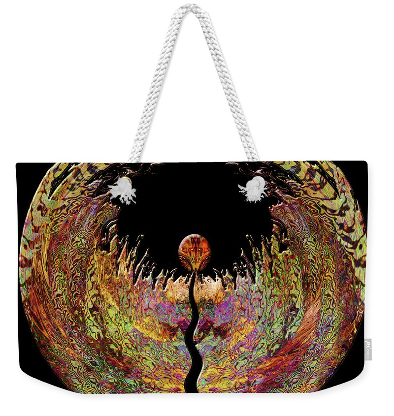Spirit Weekender Tote Bag featuring the digital art Spirit by Barbara Berney