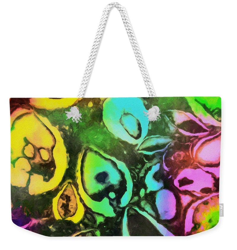 Spirit Of Life Weekender Tote Bag featuring the painting Spirit Of Life by David Millenheft