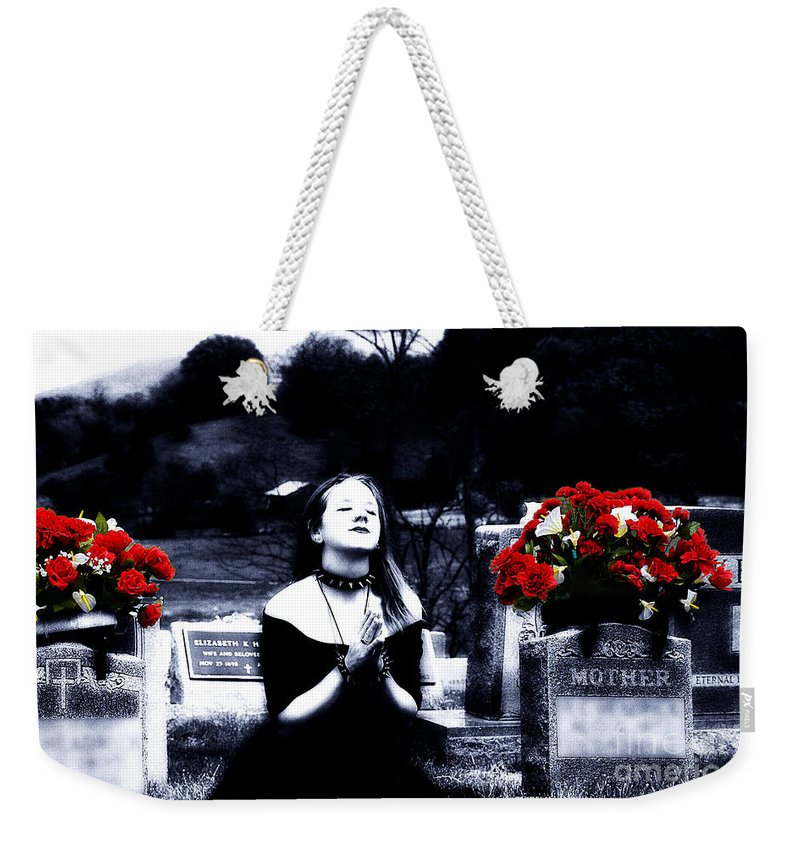 Clay Weekender Tote Bag featuring the photograph Spiritual Enlightenment by Clayton Bruster