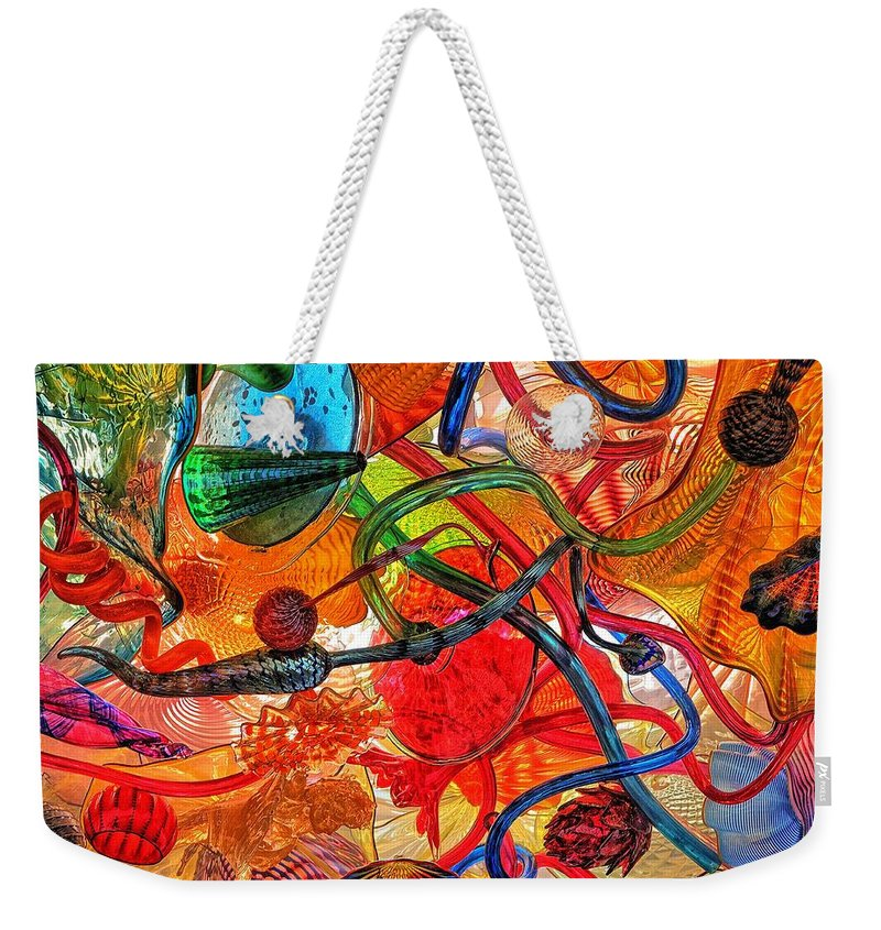 Blank Weekender Tote Bag featuring the photograph Splendor In The Glass by Tim Coleman