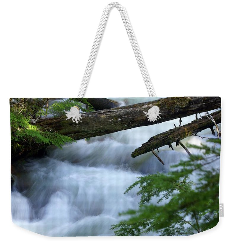 Glacier National Park Weekender Tote Bag featuring the photograph Sprague Creek Glacier National Park by Marty Koch