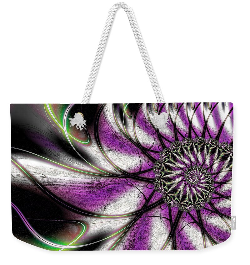 Art Weekender Tote Bag featuring the digital art Sprightly by Candice Danielle Hughes