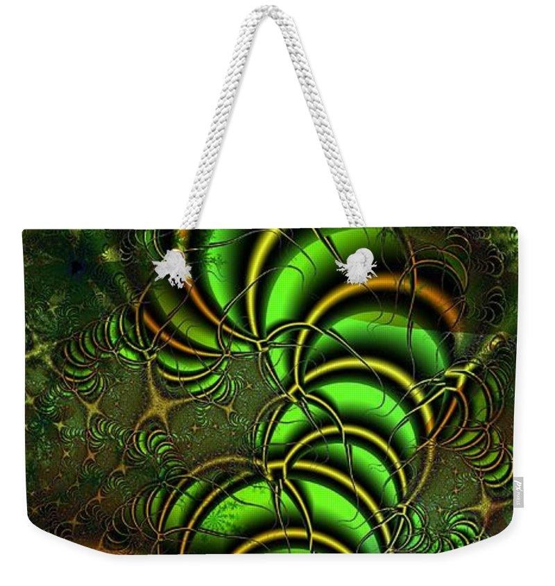 Digital Art Weekender Tote Bag featuring the digital art Spring Awakens by Amanda Moore