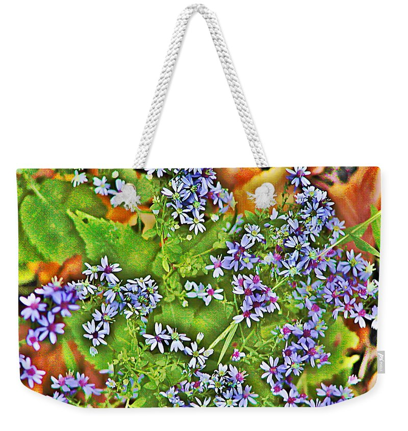 Flower Weekender Tote Bag featuring the photograph Spring by Bill Cannon