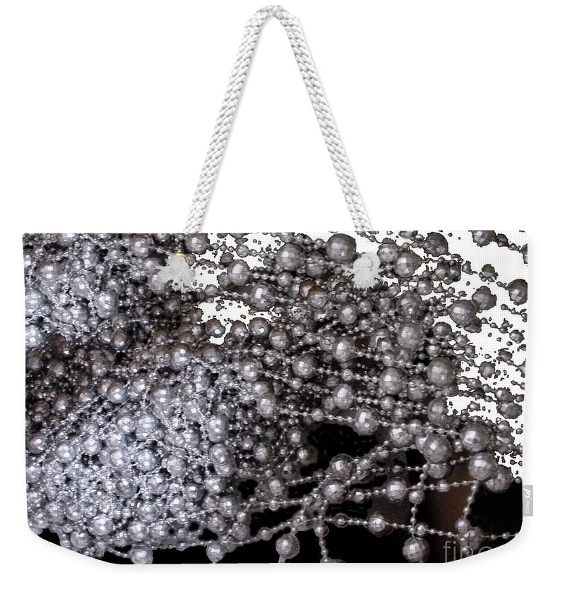 Beadwork Weekender Tote Bag featuring the digital art Spring Breakup by Ron Bissett