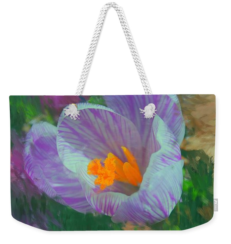 Digital Photography Weekender Tote Bag featuring the digital art Spring Has Sprung by David Lane