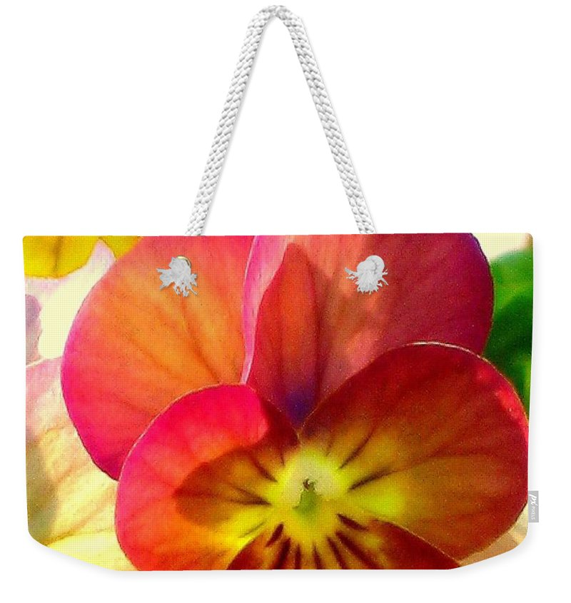 Floral Weekender Tote Bag featuring the photograph Spring Has Sprung by Marla McFall