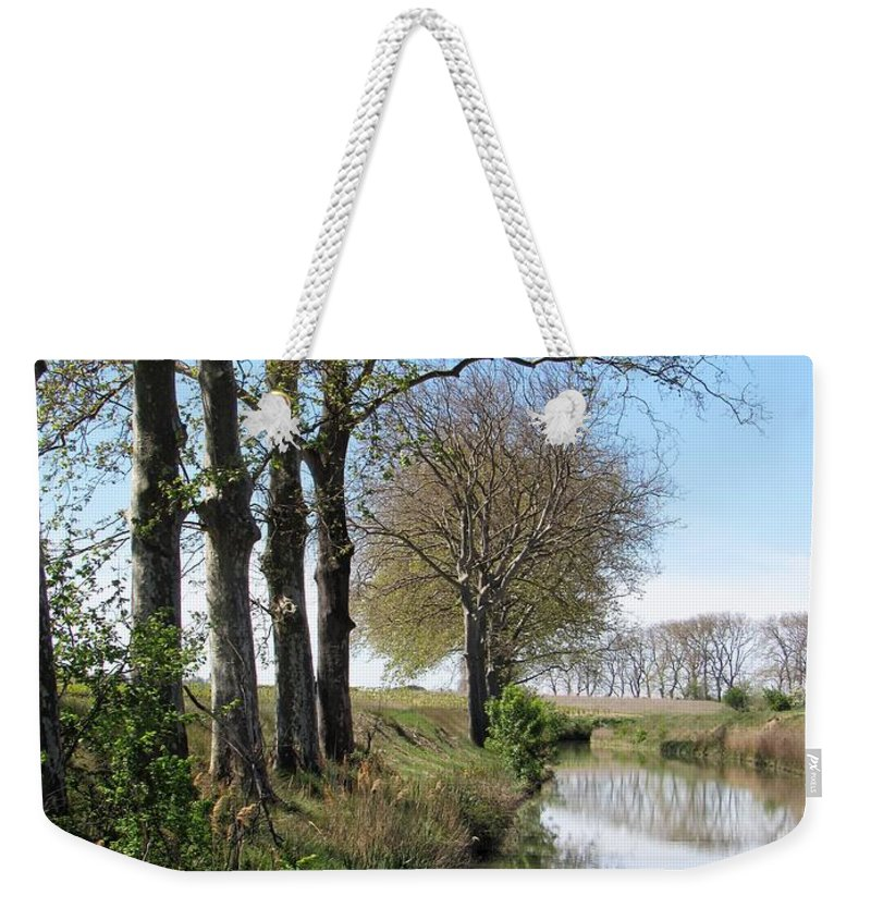 Spring Weekender Tote Bag featuring the photograph Spring In Sete, Montpellier, France by Barbara Ebeling