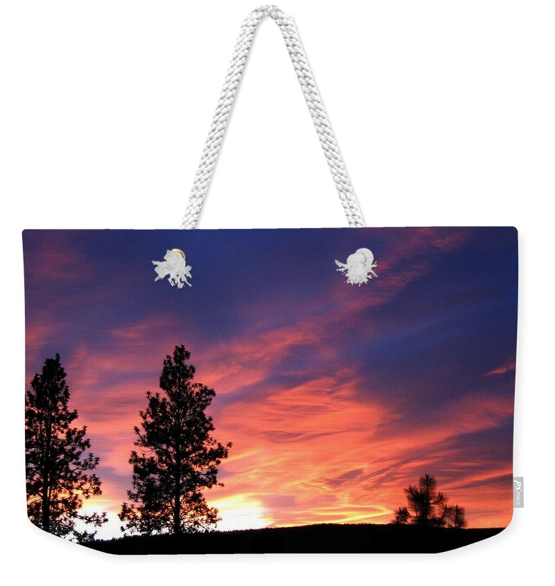 Sunset Weekender Tote Bag featuring the photograph Spring Spectacle by Will Borden