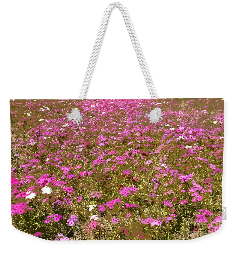 Spring Weekender Tote Bag featuring the digital art Spring Time by David Lee Thompson