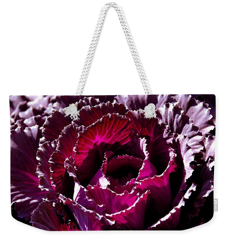 Flower Weekender Tote Bag featuring the painting Springing by David Lee Thompson