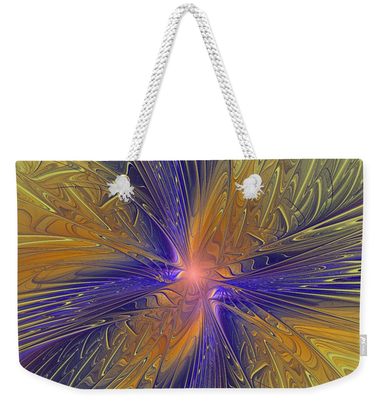 Fractal Weekender Tote Bag featuring the photograph Springtime Dreams by Deborah Benoit