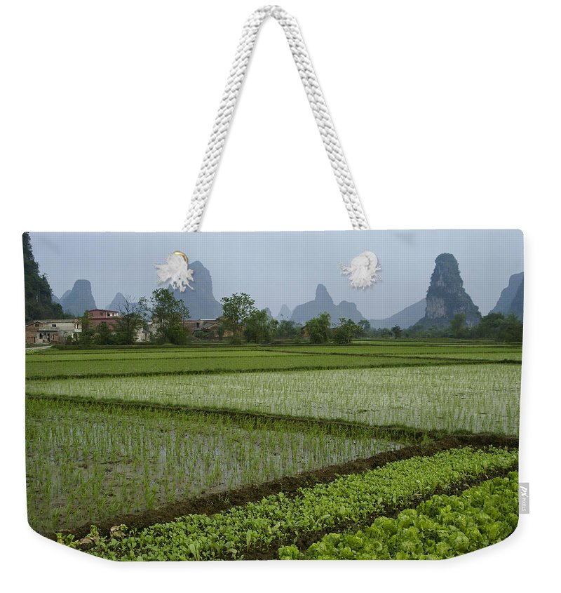 Asia Weekender Tote Bag featuring the photograph Springtime In Guangxi by Michele Burgess