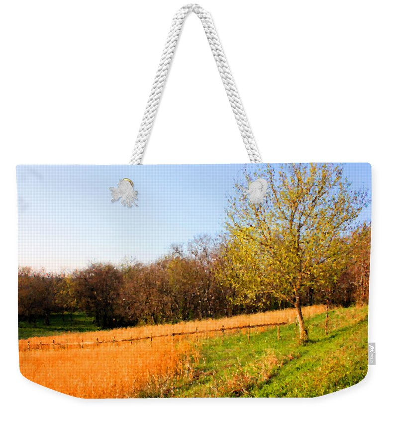 Wheat Weekender Tote Bag featuring the photograph Springtime In Tennessee by Kristin Elmquist