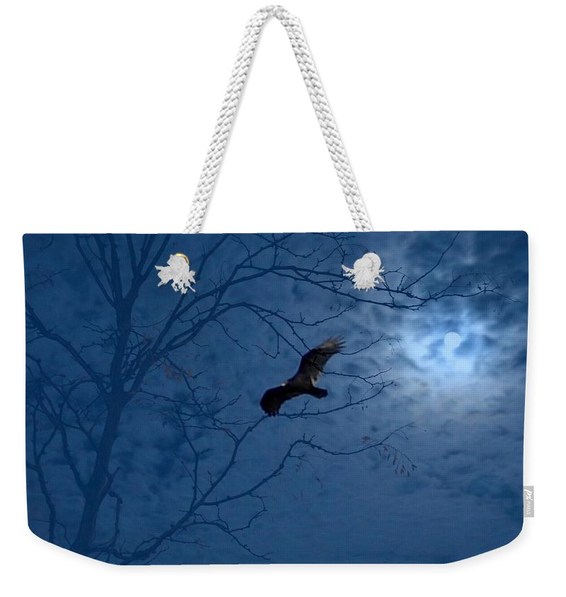 Weekender Tote Bag featuring the photograph Sprit In The Sky by Luciana Seymour