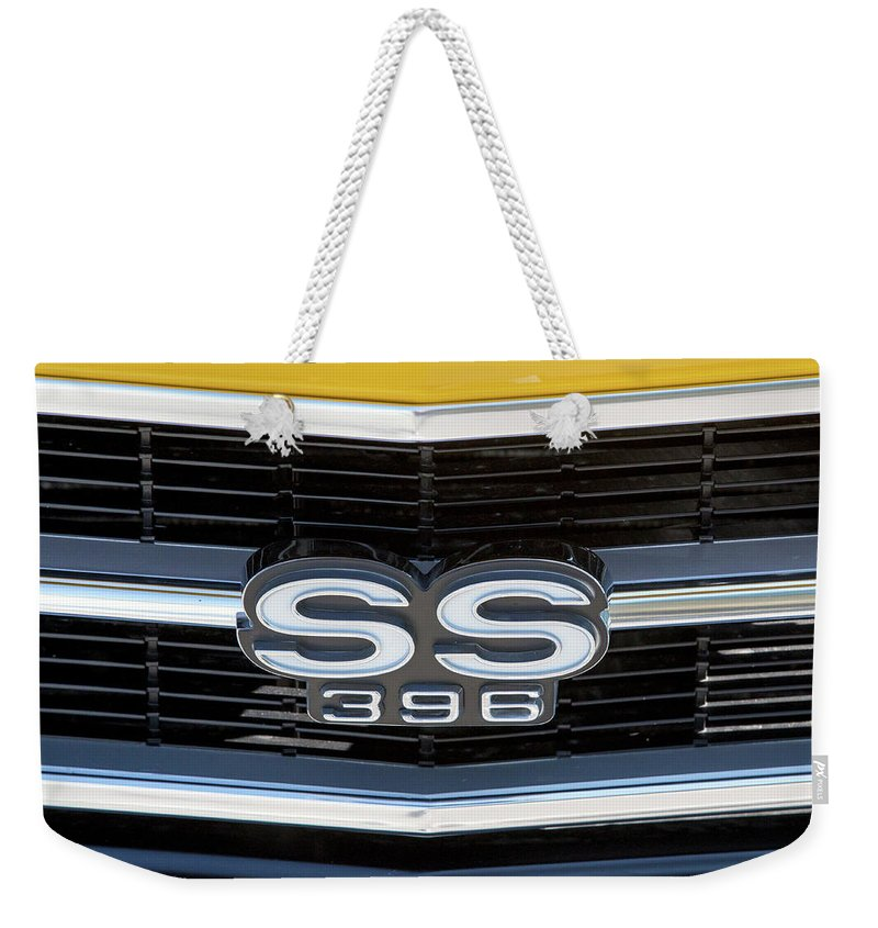 Ss Weekender Tote Bag featuring the photograph Ss 396 by David Stasiak