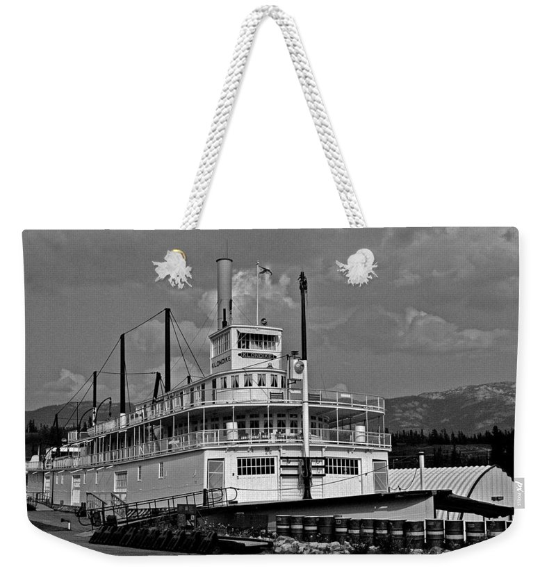 North America Weekender Tote Bag featuring the photograph S.s. Klondike by Juergen Weiss