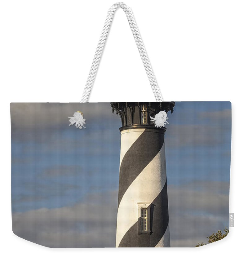 Architecture Weekender Tote Bag featuring the photograph St. Augustine Lighthouse 11 by Maria Struss