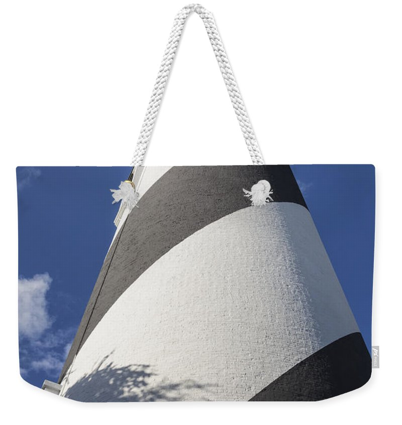 Architecture Weekender Tote Bag featuring the photograph St. Augustine Lighthouse 203 by Maria Struss