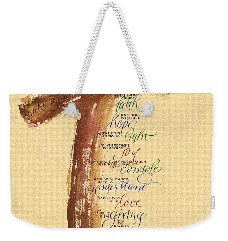 Bible Weekender Tote Bags